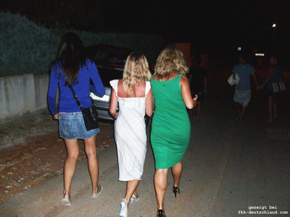 Unsere Frauen Gruppe beim FKK Urlaub in Kroatien - FKK
